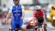 Contador roza el triunfo en una etapa con dominio español