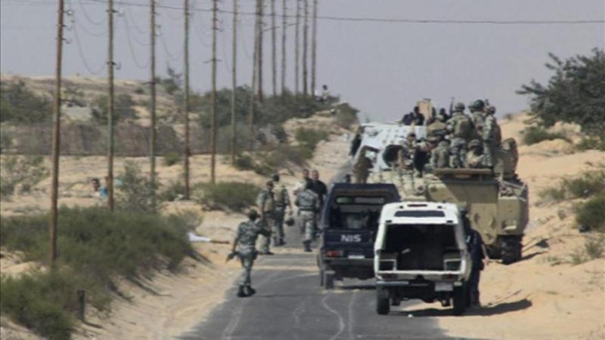 Secuestran a 7 miembros de las fuerzas de seguridad egipcias en el Sinaí