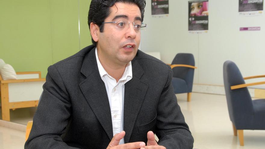 El alcalde de Guía de Isora, Pedro Martín.