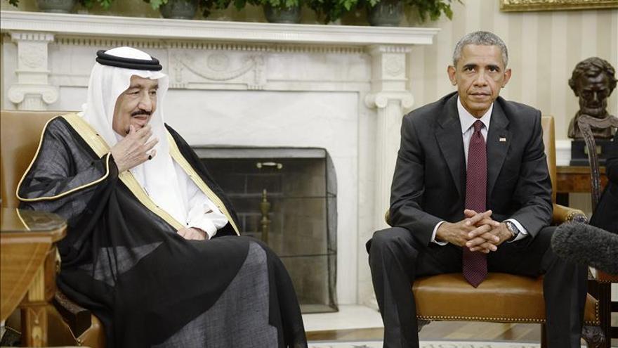 Obama y el rey Salmán abordan preocupaciones comunes sobre Siria y Yemen