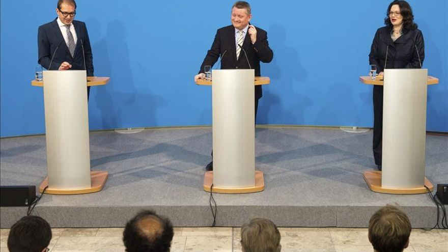 La CDU de Merkel y el SPD entran en recta final de negociaciones de coalición