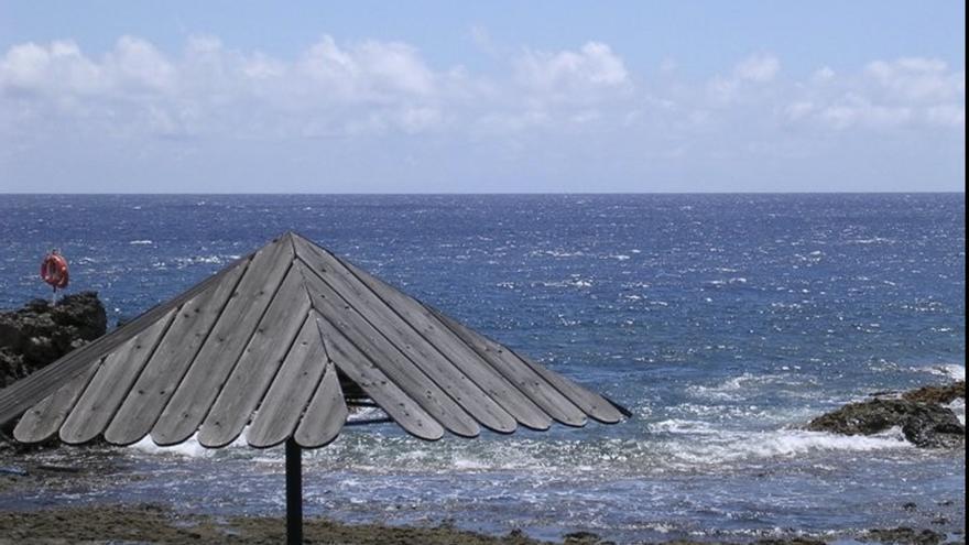 Imagen de archivo de la playa de la Salemera. Foto: palmerosenelmundo.com