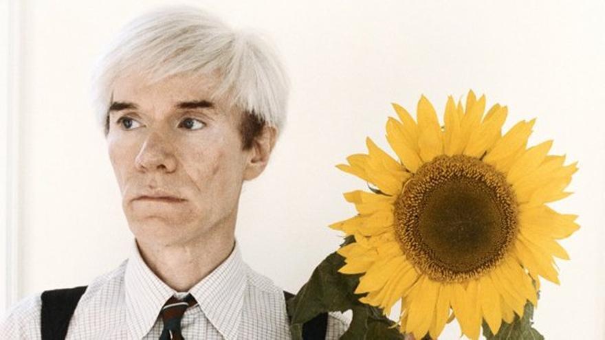 Retrato de Andy Warhol por Steve Wood