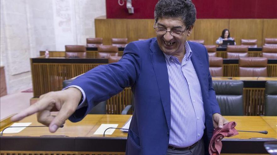 Diego Valderas pide agilidad en la investigación de los ERE en el Supremo
