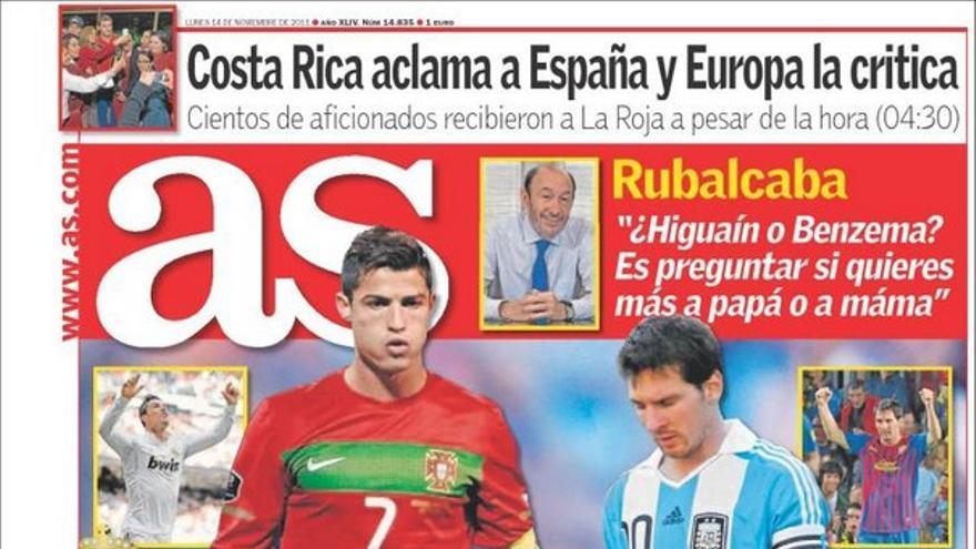 De las portadas del día (14/11/2011) #12