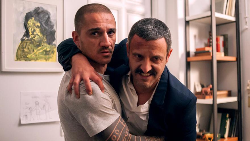 Los hermanos Clemente y Daniel Guerrero, en la 2ª temporada de Gigantes