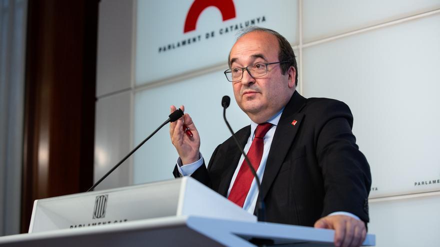 """Iceta cree que sería """"un error"""" que el Parlament impida a un catalán presidir el Senado"""