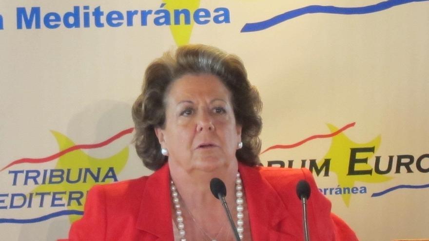 """Barberá dice no estar implicada en ningún caso de corrupción y tacha de """"patética"""" a la oposición"""