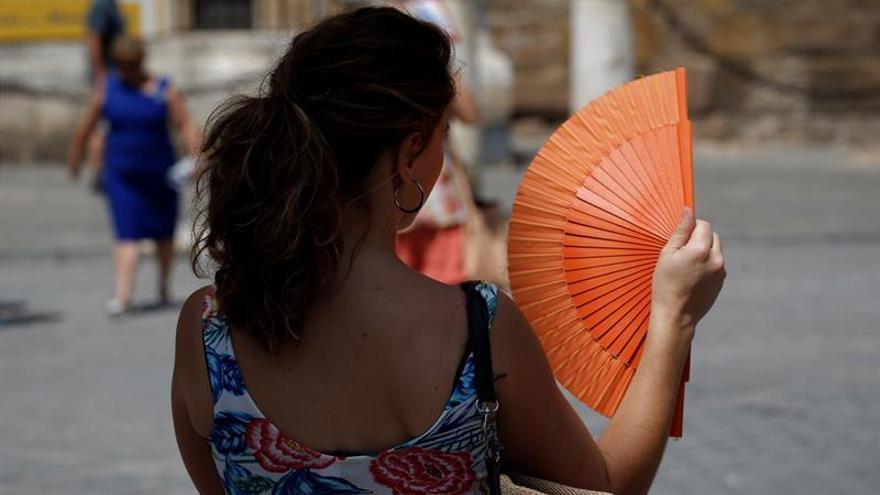 Alerta amarilla por calor en el oeste de Andalucía, Extremadura y Galicia