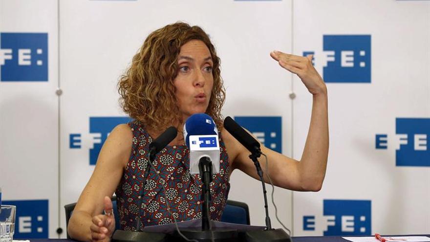 Batet asegura que, con el PP, España se quedará sin sistema pensiones en 2018