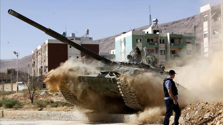 Al menos doce efectivos leales al régimen mueren en combates cerca de Damasco