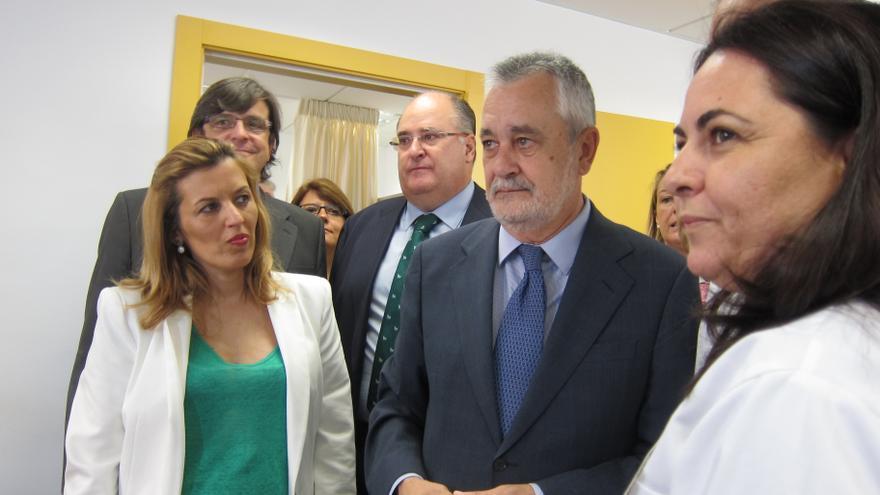 """Griñán, de acuerdo con el Gobierno, aboga por una """"fórmula objetiva"""" para fijar el déficit a cada comunidad"""