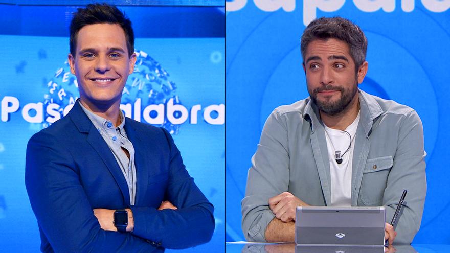 El guiño entre Roberto Leal y Christian Gálvez por los 20 años de 'Pasapalabra'