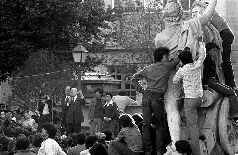 En las fiestas del Dos de Mayo de 1979
