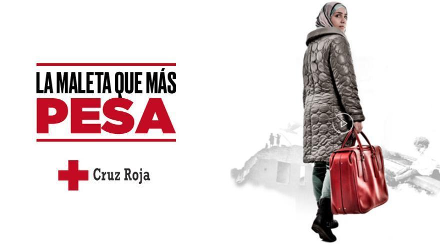 Campaña 'La maleta que más pesa' de Cruz Roja