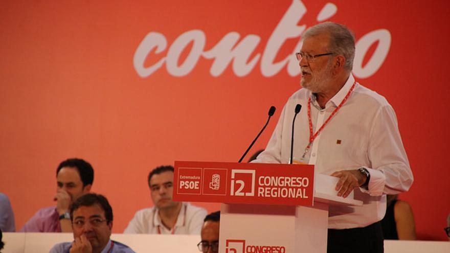 congreso PSOE extremadura Vara Ibarra