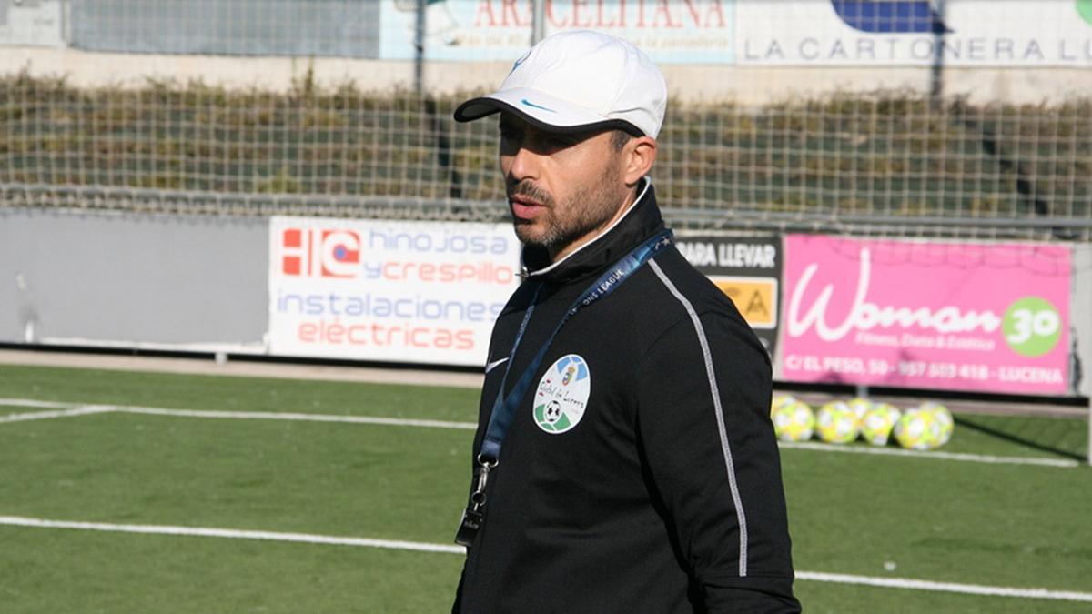 Dimas Carrasco, técnico del Ciudad de Lucena