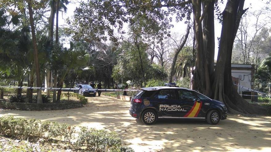 Hallan el cadáver de una mujer en el parque María Luisa en Sevilla
