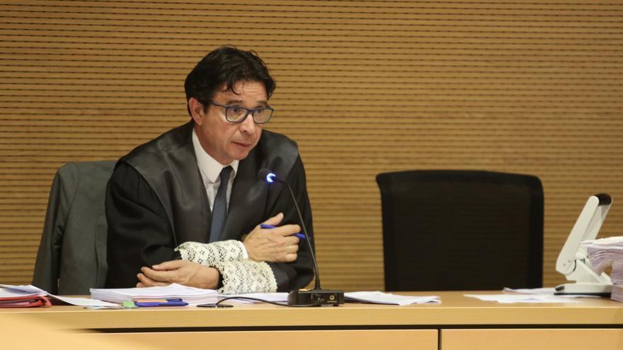 El magistrado Pedro Herrera, presidente del tribunal de jurado del caso Eólico. (ALEJANDRO RAMOS)