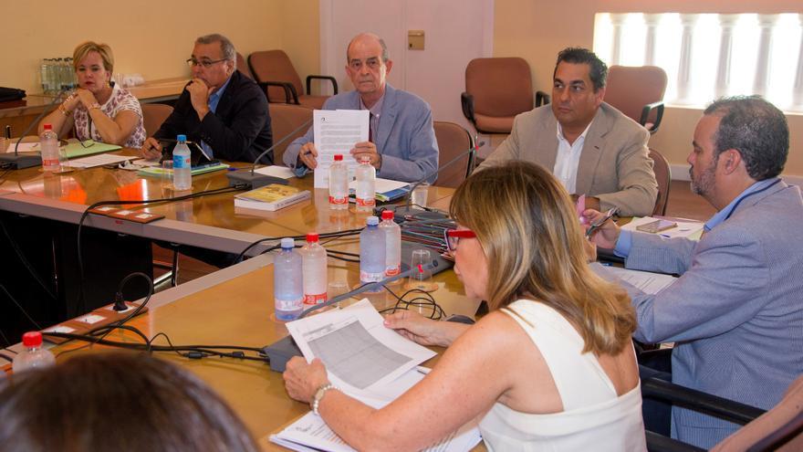 Pleno del Consejo Social de la ULPGC celebrado en julio de 2018