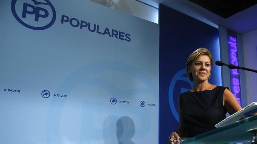El PP explica que Soria opta a un puesto del Banco Mundial por su currículum