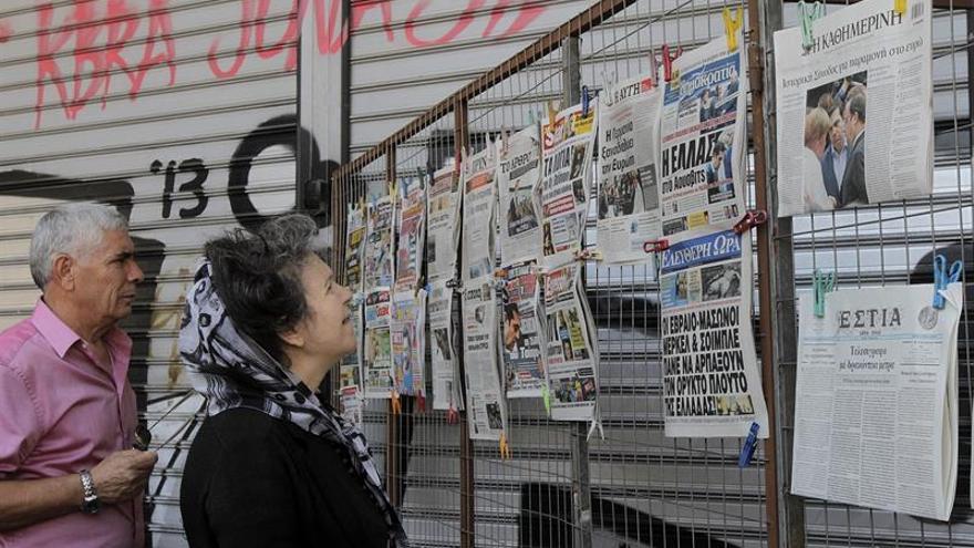 La crisis en los medios griegos se acentúa con más huelgas