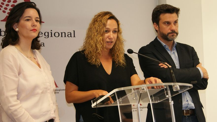 Isabel Casalduero, diputada del PSOE en la Asamblea Regional de Murcia