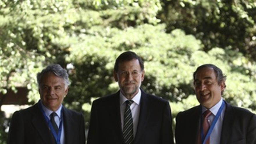 Mariano Rajoy Y Joan Rosell