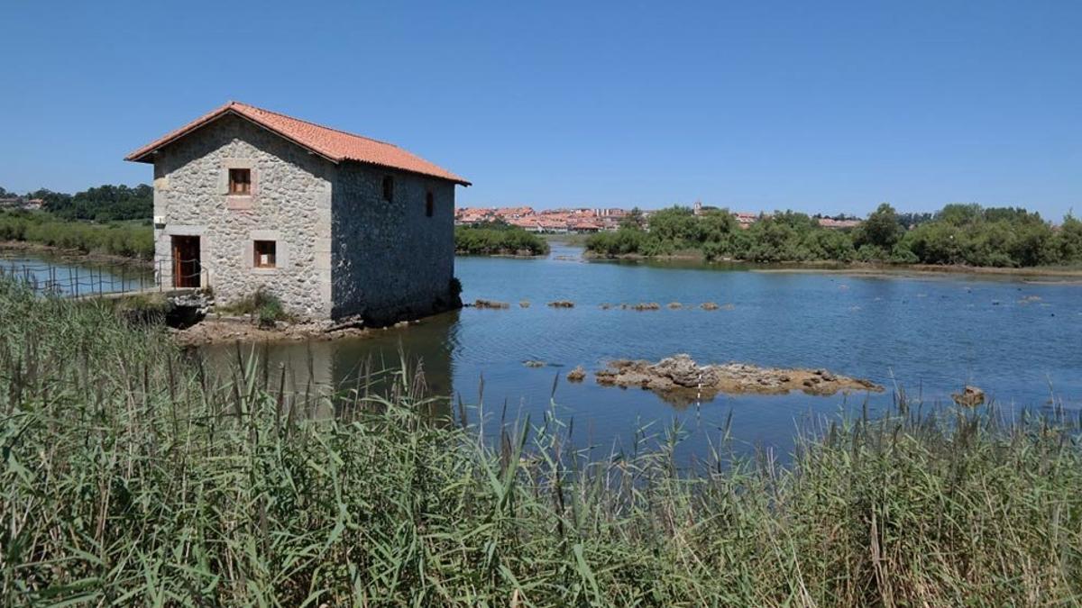 Molino de las Aves, en Noja.