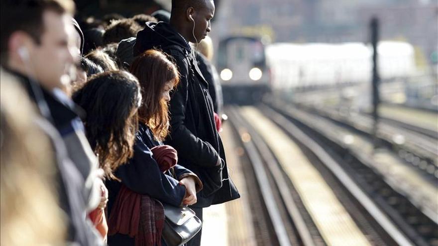 """Reabre el último tramo del metro de Nueva York cerrado por el huracán """"Sandy"""""""