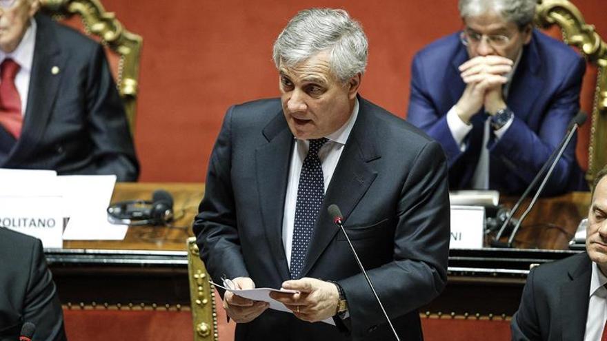 """Tajani dice que las acusaciones de Erdogan a Alemania ofenden """"a todos los europeos"""""""