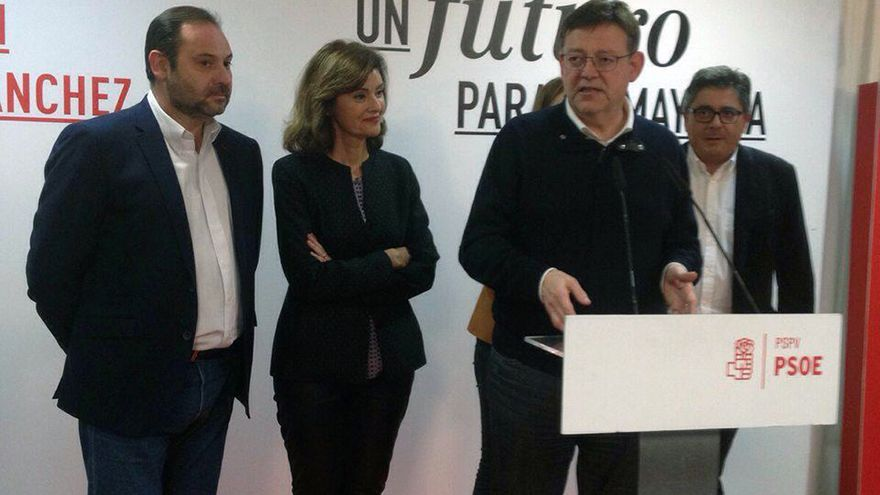 El president Ximo Puig valora los resultados electorales socialistas en la Comunitat Valenciana