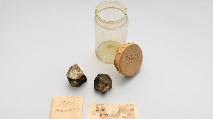 Localizan dos fragmentos del meteorito que cayó sobre Barcelona en 1704