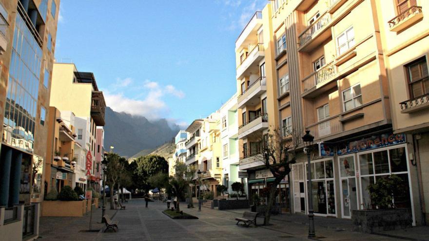 Calle Díaz Pimienta de Los Llanos de Aridane. Foto: palmerosenelmundo.com