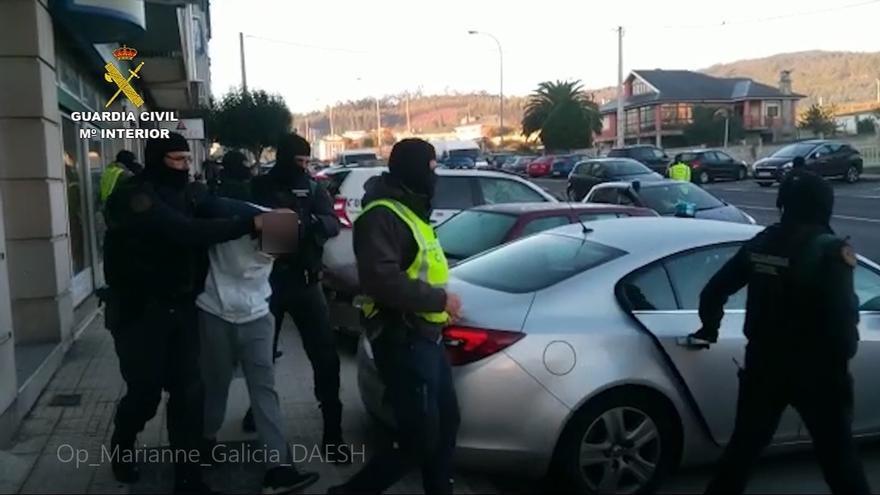 Uno de los presuntos yihadista tenía un hijo con una joven gallega y el segundo compartía piso con otro hombre