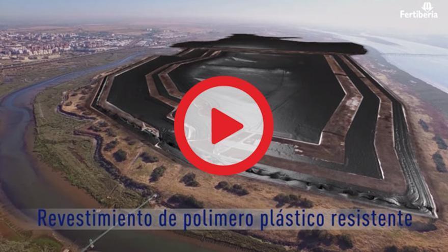 VÍDEO   Fertiberia lanza una campaña que no aclara cuando estarán libres de fosfoyesos las marismas de Huelva