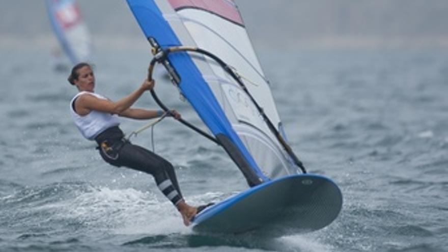 Marina Alabau en los Juegos Olímpicos de Londres