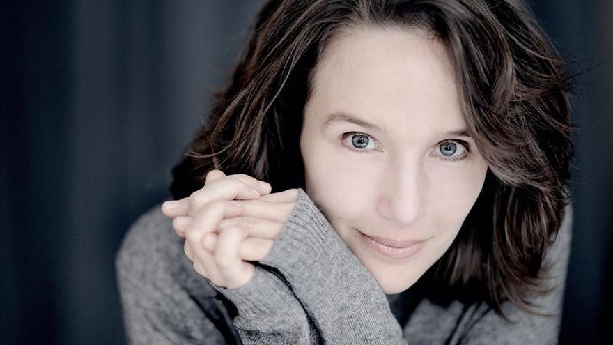 """La pianista Hélène Grimaud alerta sobre el agua en un disco """"ecologista"""""""