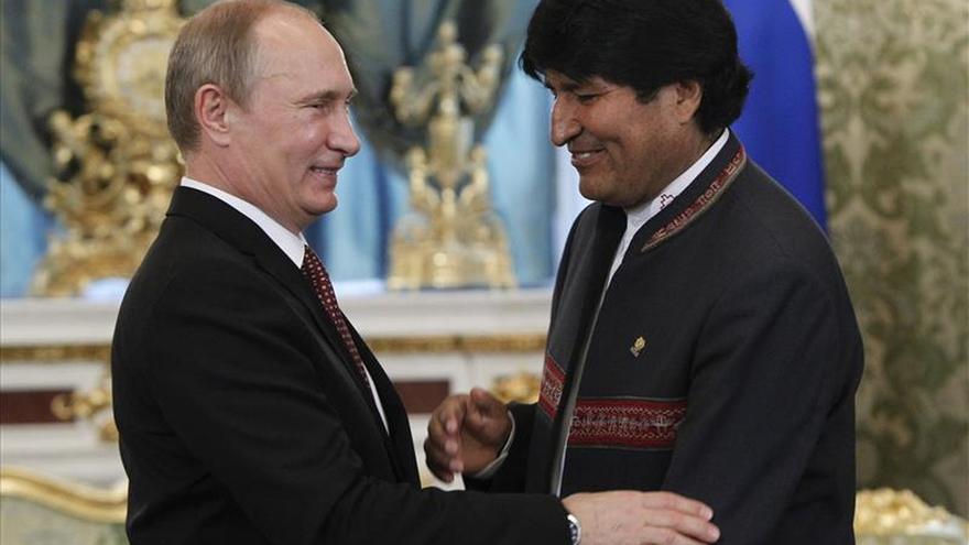 Morales celebrará reuniones bilaterales con Putin, Rohaní y Maduro en la cumbre del gas