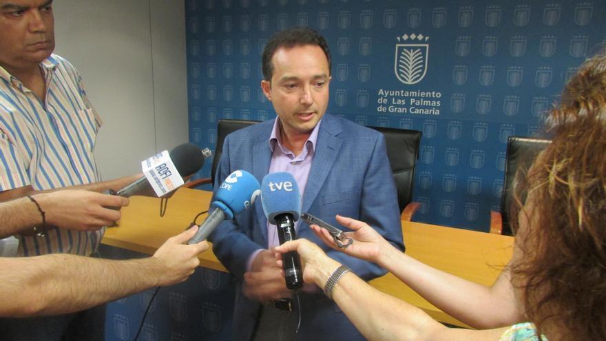 El concejal de Aguas del Ayuntamiento de Las Palmas de Gran Canaria, Roberto Santana (AYUNTAMIENTO DE LAS PALMAS DE GRAN CANARIA)