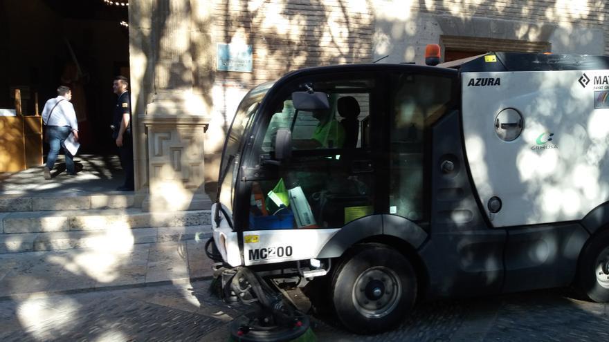 La remunicipalización de la limpieza viaria en Huesca lleva en marcha desde 2015
