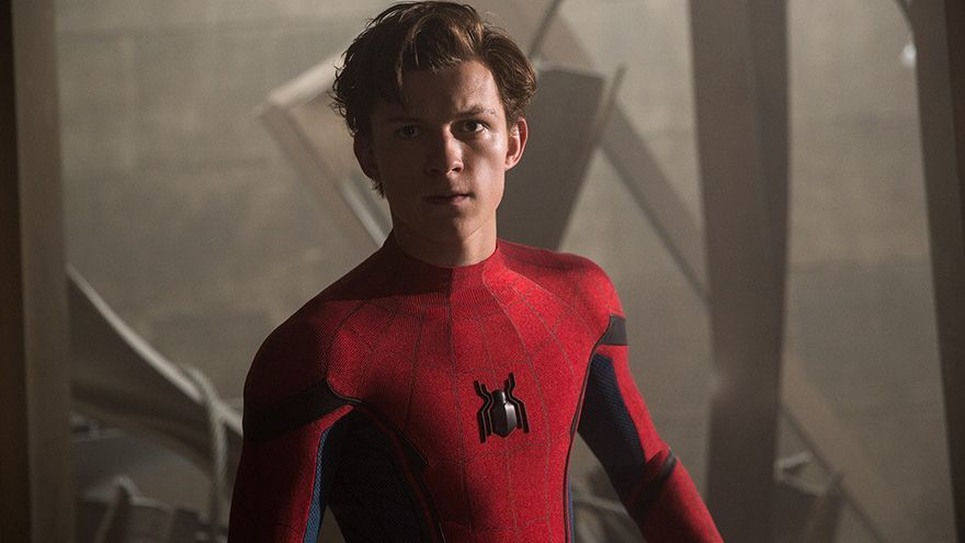 Tom Holland en 'Spider-Man: Homecoming'