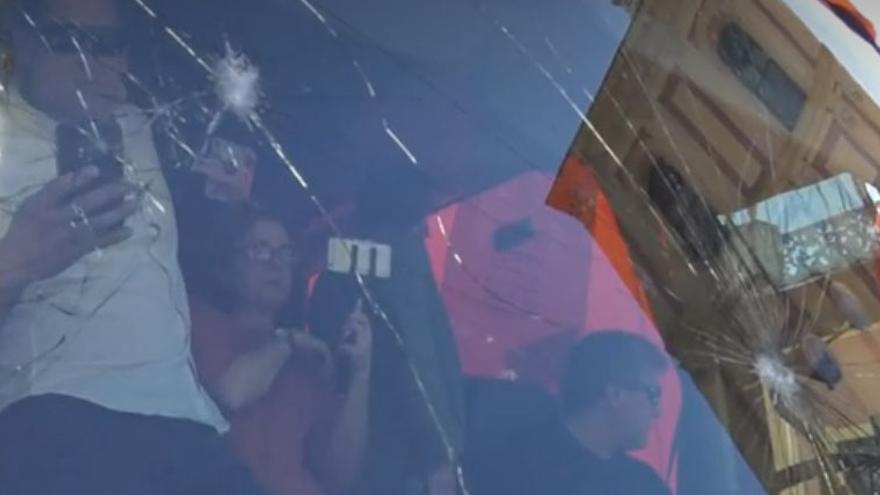 Captura de pantalla de la emisión del programa 'Al rojo vivo' de La Sexta este miércoles
