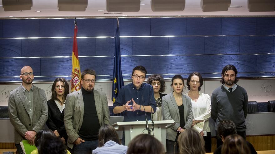 """Podemos se levanta de la mesa de negociación con el PSOE porque el acuerdo con C's es """"incompatible"""" con ellos"""