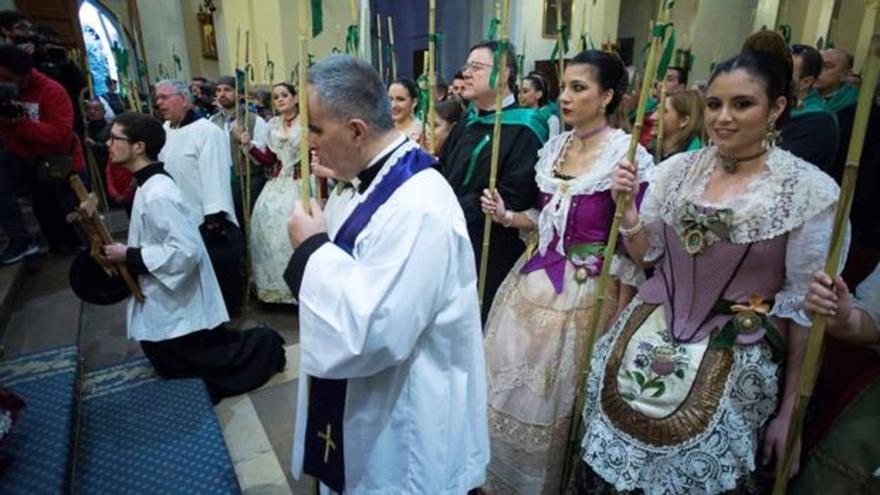 Uno de los actos de las fiestas de la Magdalena
