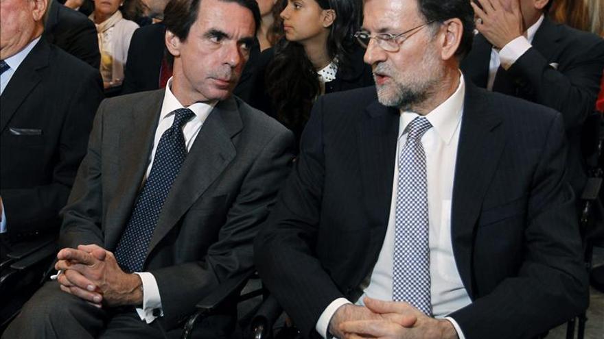 Rajoy y Aznar se ven mañana mes y medio después de críticas del expresidente