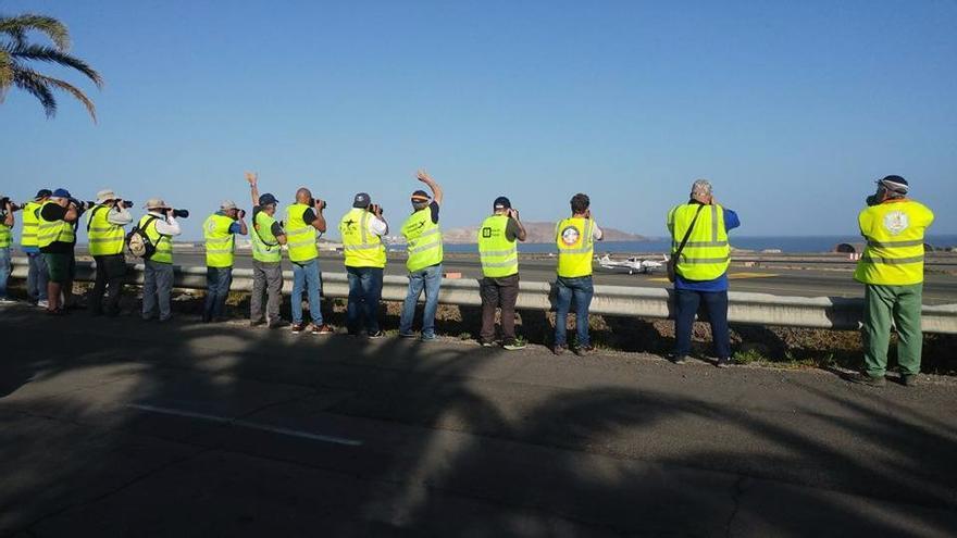 Spotters en el IV Open Day de Gran Canaria.