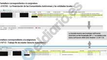 Cristina Cifuentes obtuvo su título de máster en una universidad pública con notas falsificadas