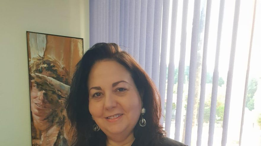 La candidata a decana del Colegio de Abogados de Murcia, Amparo Muñoz
