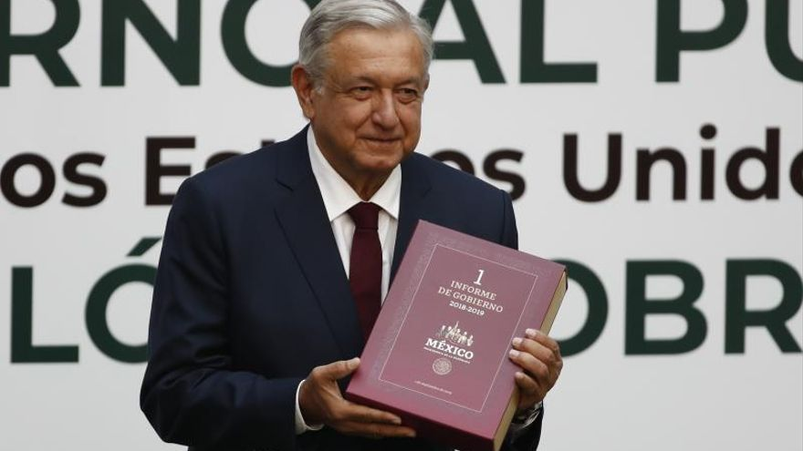 """López Obrador destaca """"respeto mutuo"""" con EEUU y asegura defensa de migrantes"""